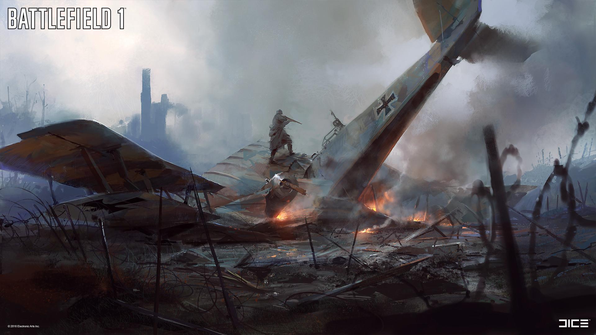 Battlefield 1 Concept Art By Robert Sammelin Concept Art World