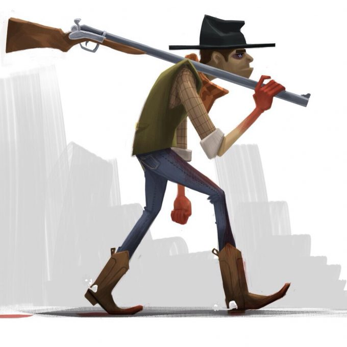 cowboy-western-concept-art-illustration-01-isaac-orloff-billy-the-kid