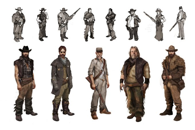 cowboy-western-concept-art-illustration-01-samuel-whitehead-natural-motion-character-ideas