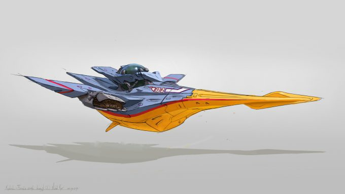 michal kus kestrel Race Craft Sketches concept art 01