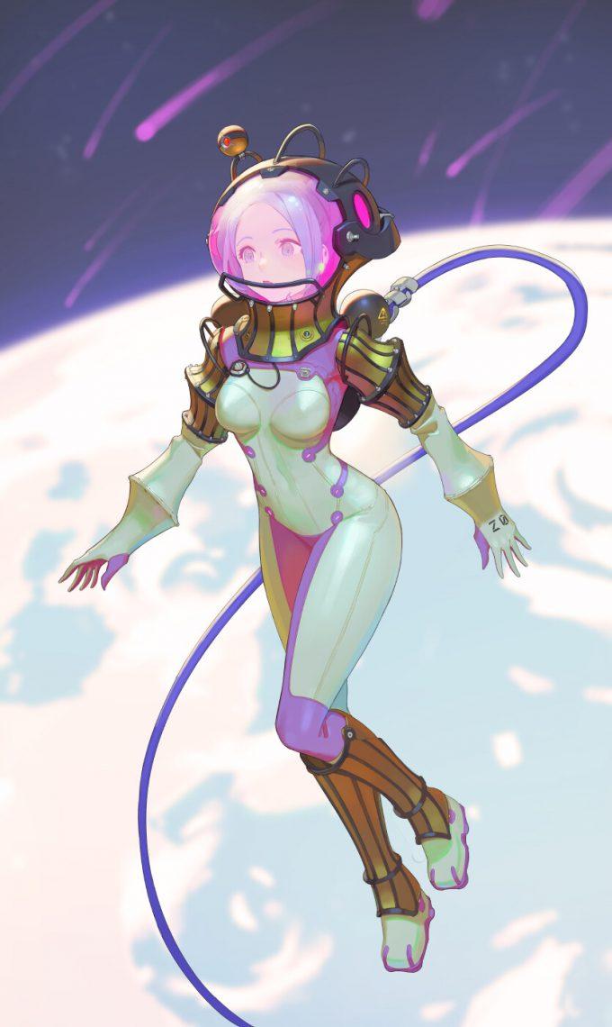 tim lochner character illustration spacesuit final