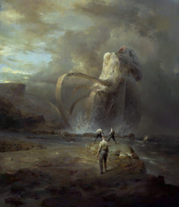 Dishonored 2 Serkonan Legends Paintings piotr jablonski kraken arkane 1s