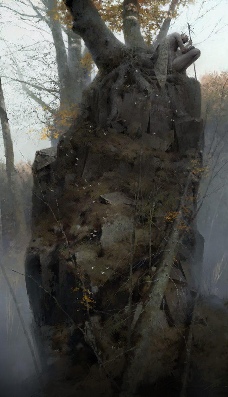 Dishonored 2 Serkonan Legends Paintings piotr jablonski the moth king serkonan legends s