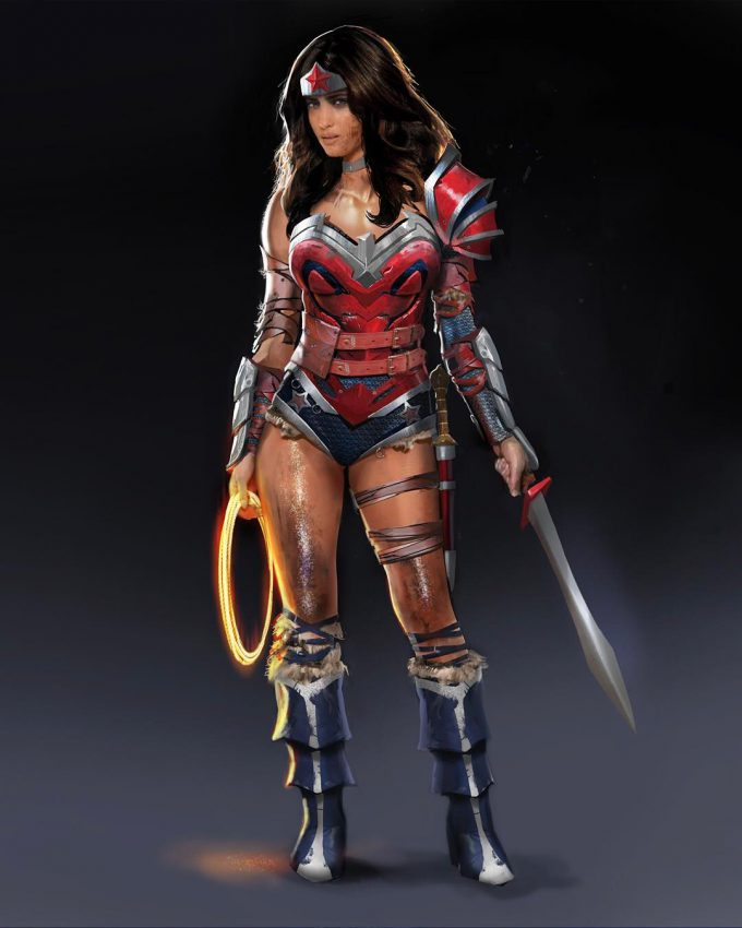 Injustice 2 Concept Art Marco Nelor Wonder Woman 01