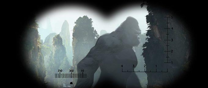 Kong Skull Island Concept Art Eddie Del Rio binoc view