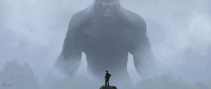 Kong Skull Island Concept Art Eddie Del Rio fog 4