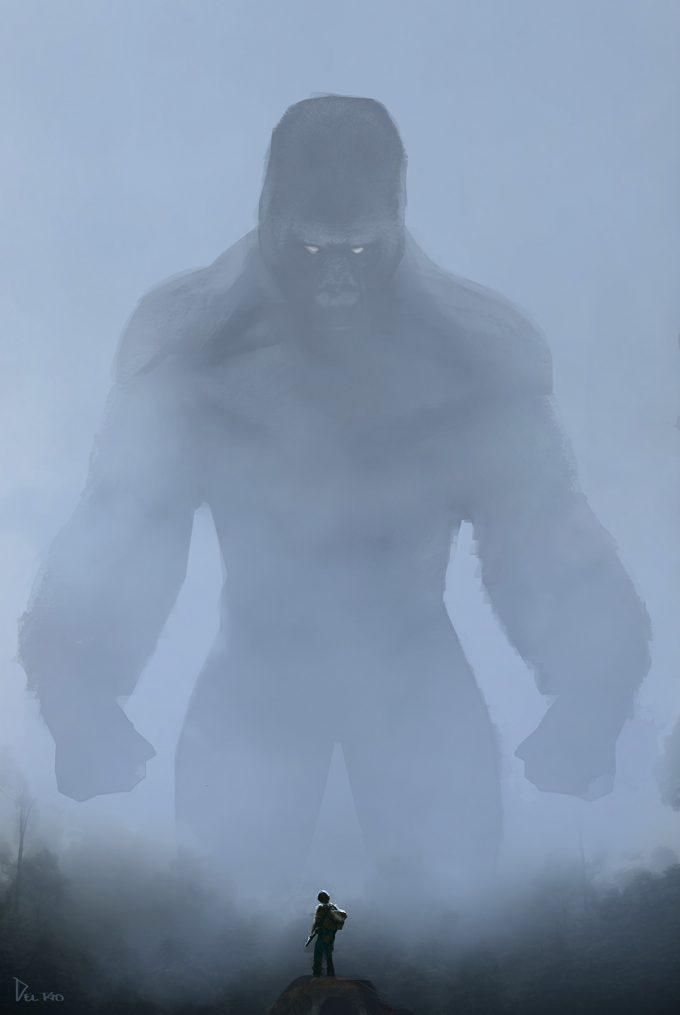Kong Skull Island Concept Art Eddie Del Rio fog 5