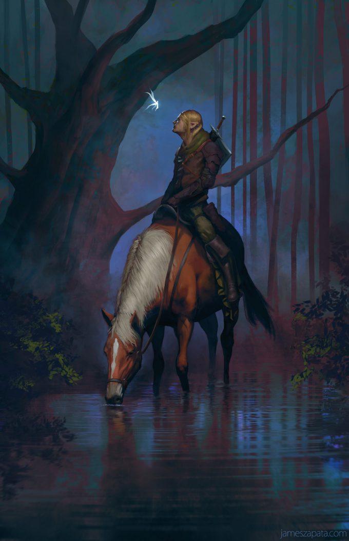 Legend-of-Zelda-Link-Fan-Art-Concept-Illustration-01-James-Zapata-Kokiri