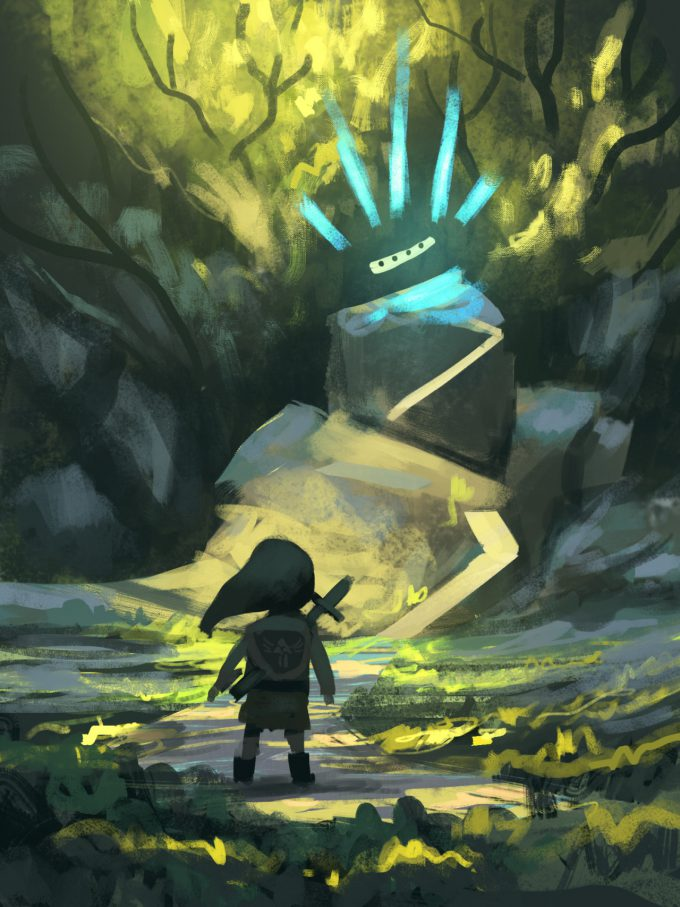 Legend-of-Zelda-Link-Fan-Art-Concept-Illustration-01-Quentin-Regnes