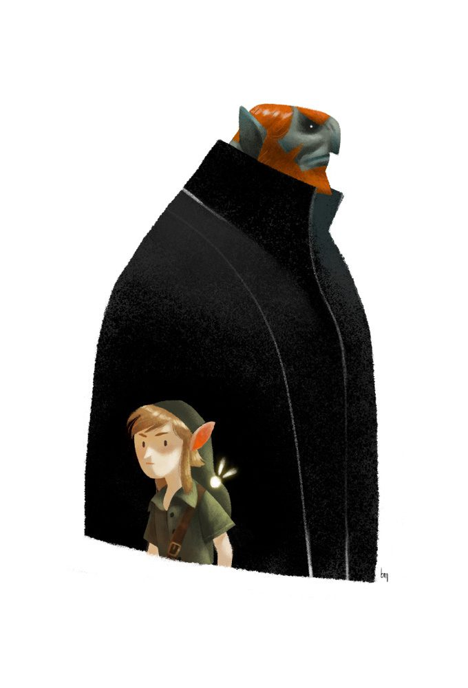 Legend-of-Zelda-Link-Fan-Art-Concept-Illustration-01-Romain-Mennetrier