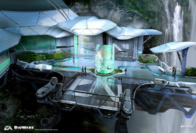 Mass Effect Andromeda Concept Art ben lo aya 01 env