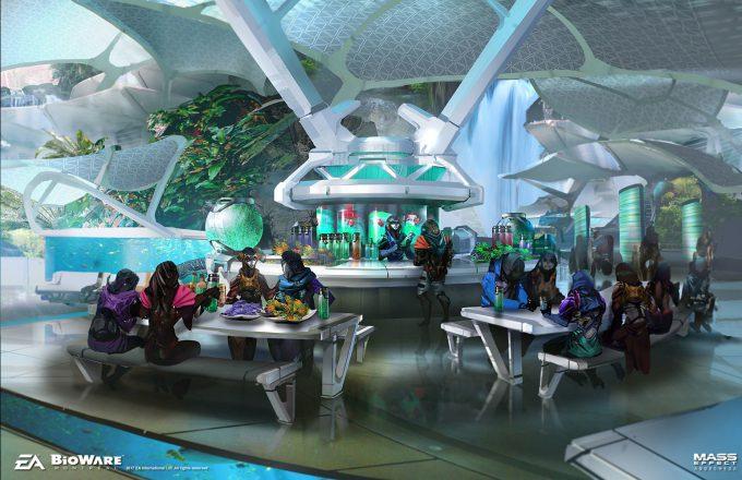 Mass Effect Andromeda Concept Art ben lo aya 02 env