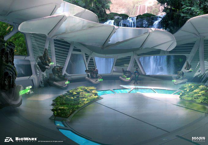 Mass Effect Andromeda Concept Art ben lo aya 03 env