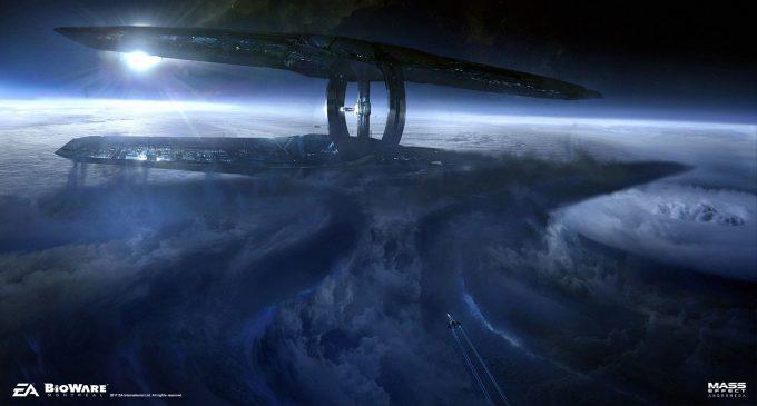 Mass Effect Andromeda Concept Art ben lo nexus reveal env