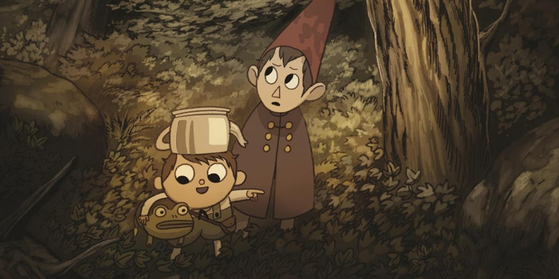 The Art of Over the Garden Wall Cover M01