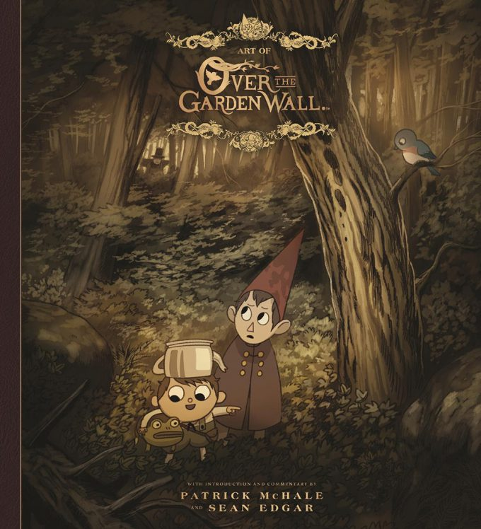 The Art of Over the Garden Wall Cover S01