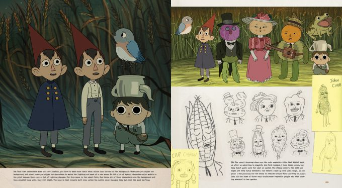 The Art of Over the Garden Wall pg 58