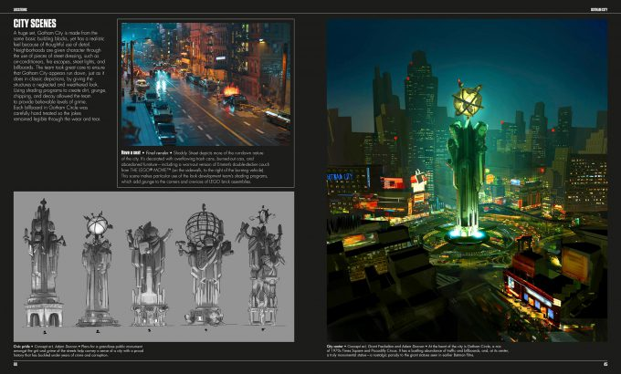 The LEGO Batman Movie The Making of the Movie Concept Art 044 045