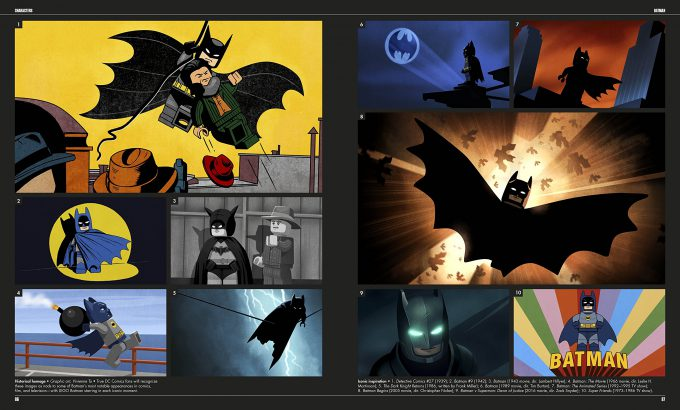 The LEGO Batman Movie The Making of the Movie Concept Art 086 087