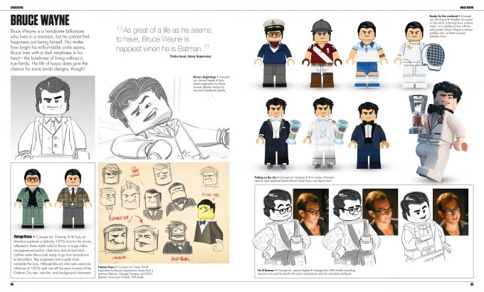 The LEGO Batman Movie The Making of the Movie Concept Art 088 089