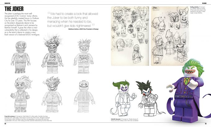 The LEGO Batman Movie The Making of the Movie Concept Art 112 113