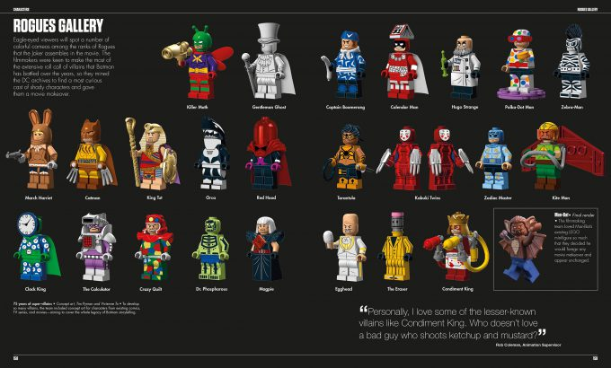 The LEGO Batman Movie The Making of the Movie Concept Art 158 159