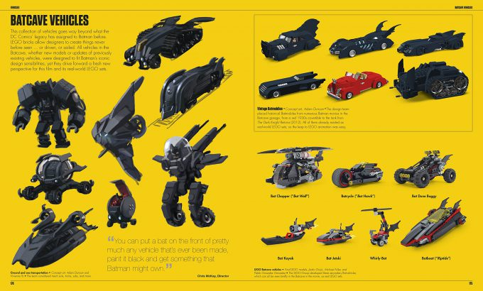 The LEGO Batman Movie The Making of the Movie Concept Art 174 175