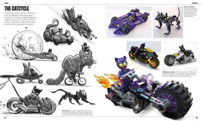 The LEGO Batman Movie The Making of the Movie Concept Art 182 183