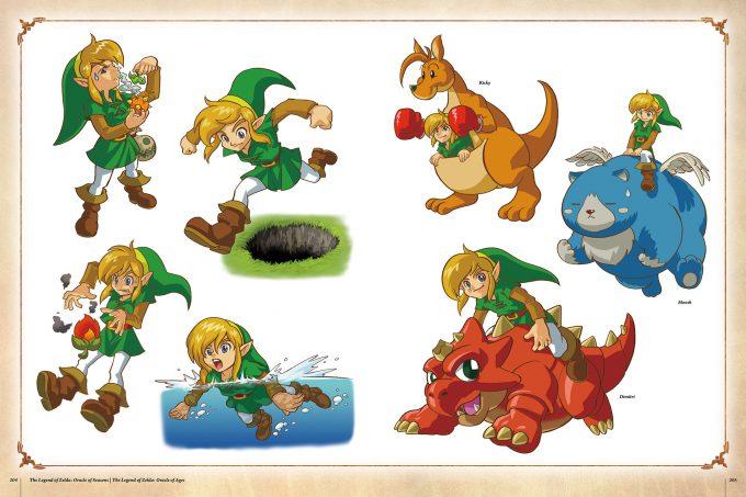 The-Legend-of-Zelda-Art-and-Artifacts-Art-Book-204-205