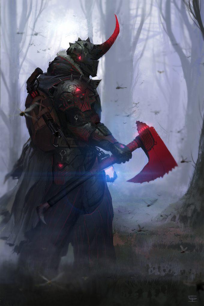 luc-de-haan-concept-art-illustration-the-forest-walker