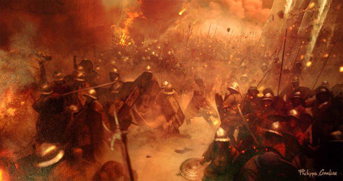 Assassins Creed Movie 2016 Concept Art PG Battle 04
