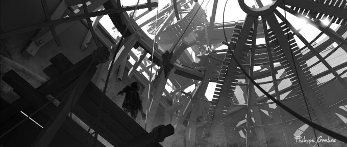 Assassins Creed Movie 2016 Concept Art PG Cathedral 03