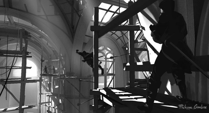 Assassins Creed Movie 2016 Concept Art PG Cathedral 06