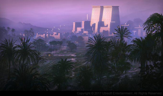 Assassins Creed Origins Concept Art Gilles Beloeil ev memphis