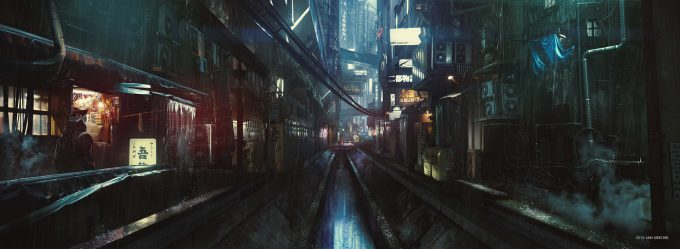 Ghost in the Shell concept art jan urschel gits paramount 01