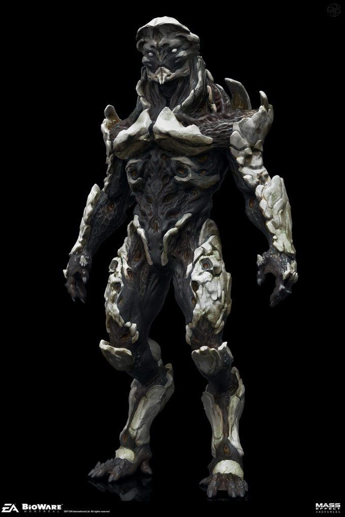 Mass Effect Andromeda Concept Art furio tedeschi ex angara pose00