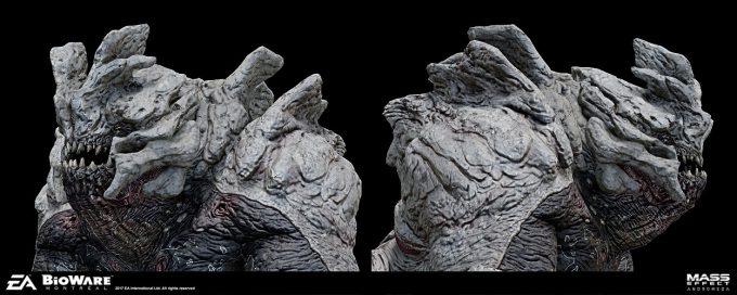 Mass Effect Andromeda Concept Art furio tedeschi khetfiend gamemodelclose