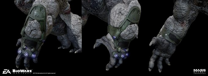 Mass Effect Andromeda Concept Art furio tedeschi khetfiend gamemodelgauntlet