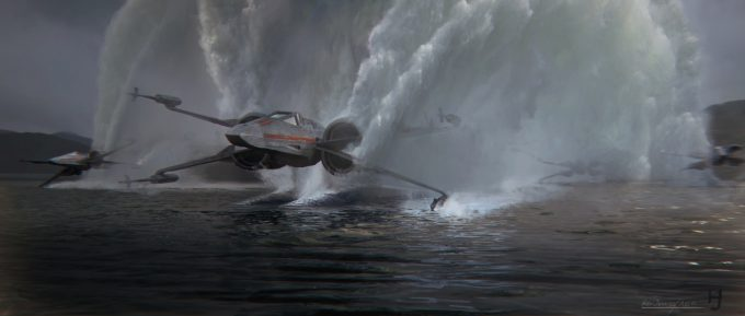 Star Wars The Force Awakens Concept Art Kevin Jenkins 0028