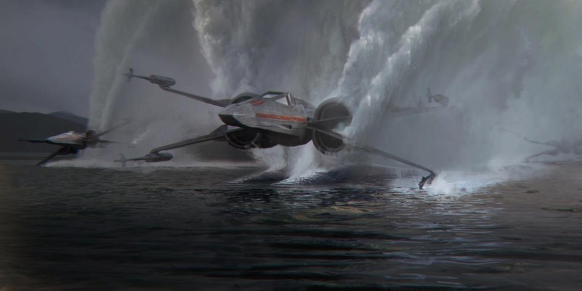 Star Wars The Force Awakens Concept Art Kevin Jenkins M01