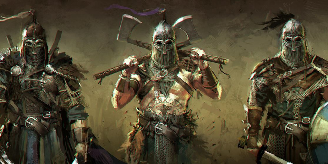 for honor game concept art remko troost 0 M01