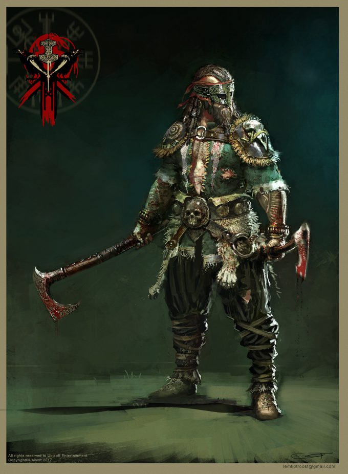 for honor game concept art remko troost fh berserkerld