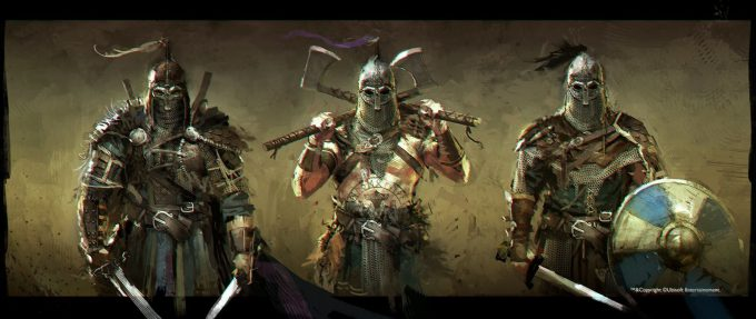 for honor game concept art remko troost forhonor research