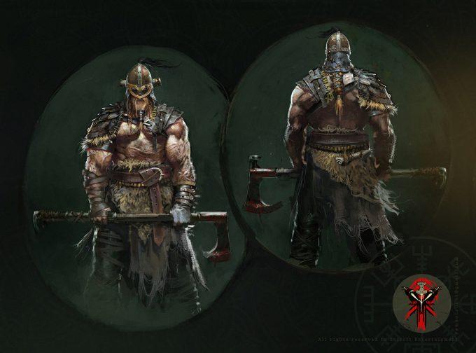for honor game concept art remko troost raider3 forhonor remkotroostld