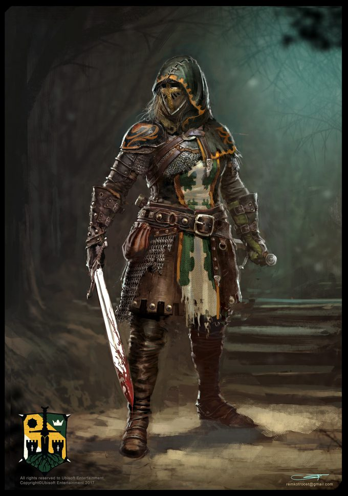 for honor game concept art remko troost spada ld