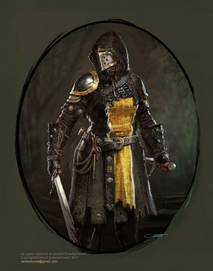 for honor game concept art remko troost spada3 ld