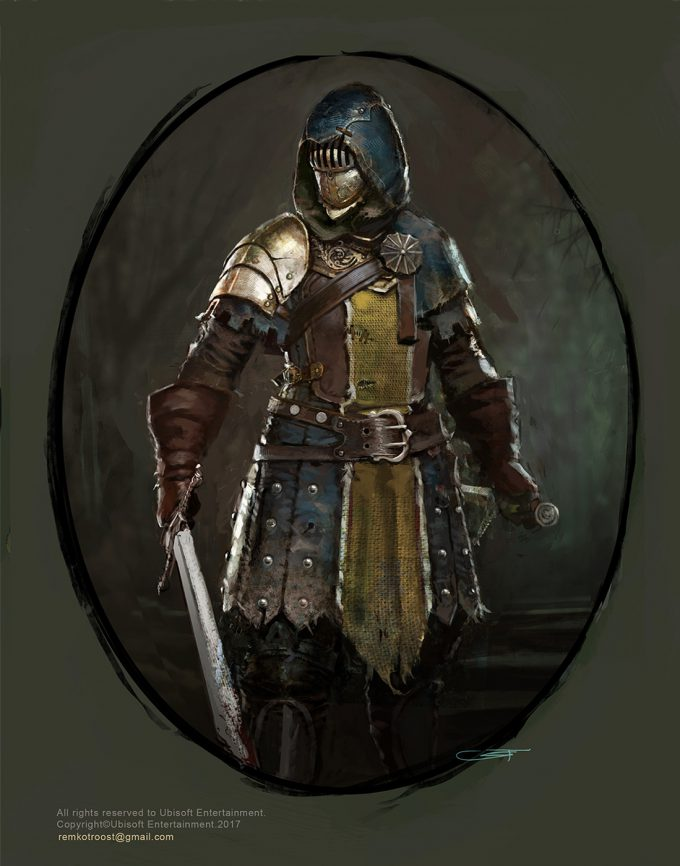 for honor game concept art remko troost spada4 ld