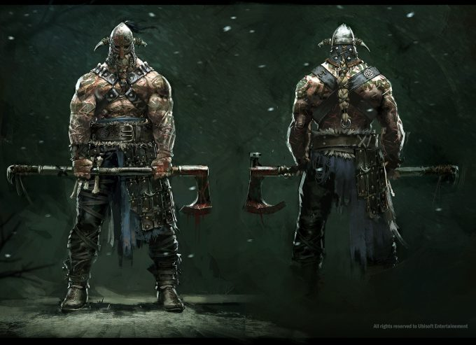 for honor game concept art remko troost vikingchamp fh