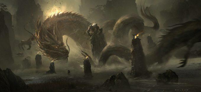 juan pablo roldan concept art dragons
