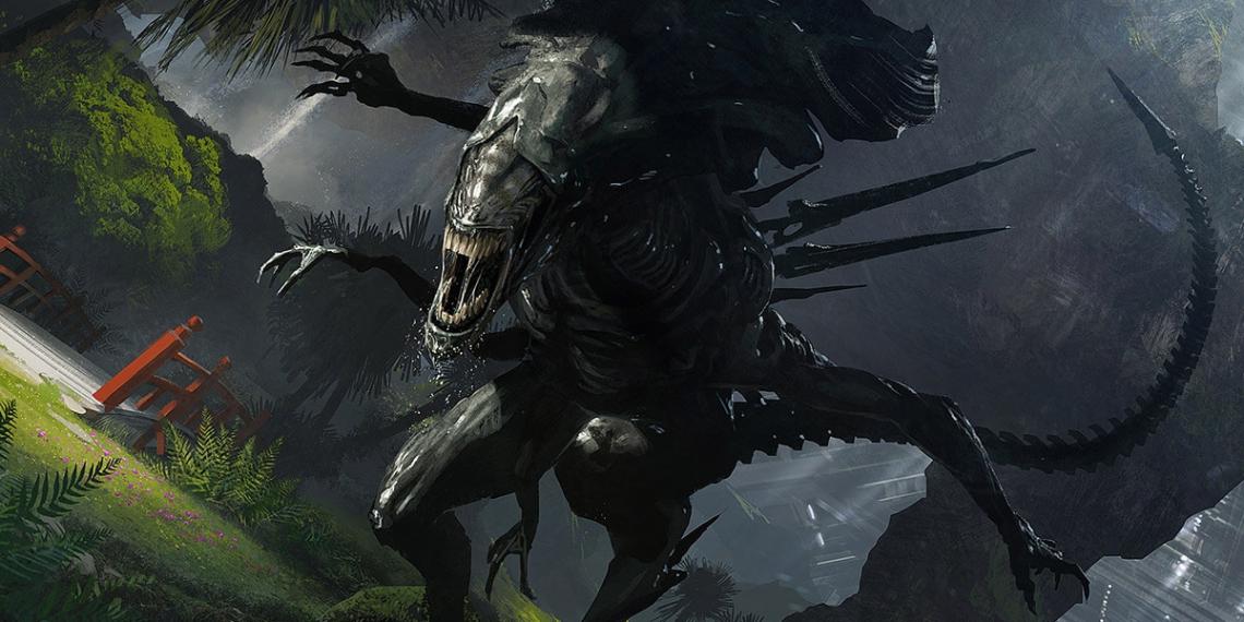 Alien 5 Concept Art Neill Blomkamp Film Project Geoffroy Thoorens 0 M01